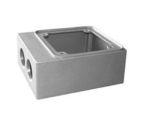 Hydraulic machinery aluminum products